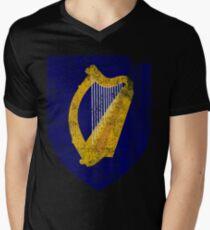 Irish Coat of Arms Ireland Symbol Men's V-Neck T-Shirt