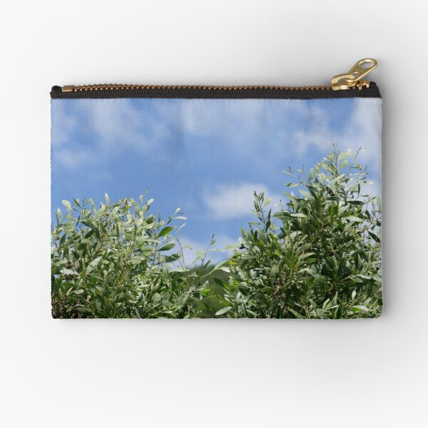 Vegetation in Italy photography Zipper Pouch