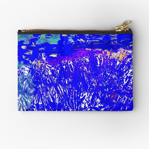 summer blue Zipper Pouch