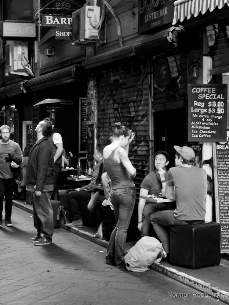 What can I get you? Coffee Laneway – Melbourne Australia by keystone