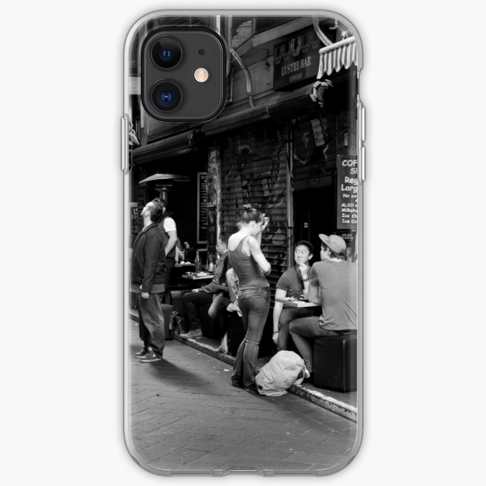 What can I get you? Coffee Laneway – Melbourne Australia iPhone Case & Cover
