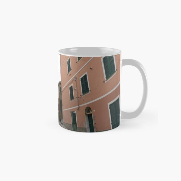 Italian town with colorful houses photography Classic Mug