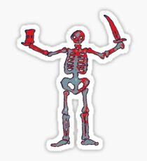 Black Sails - Bloody Skeleton  Sticker