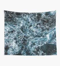 Wrath of the Dark Tempest Ocean Wall Tapestry