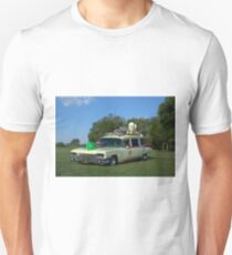 1959 Cadillac Ambulance Ghostbusters Car replica T-Shirt