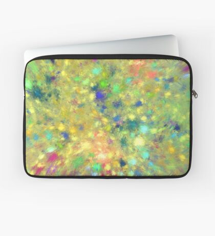 Spring #fractal art Laptop Sleeve