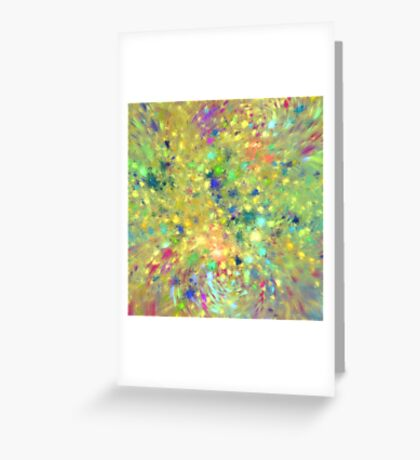 Spring #fractal art Greeting Card