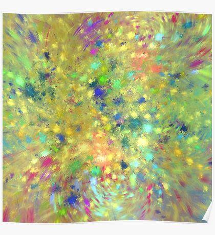 Spring #fractal art Poster