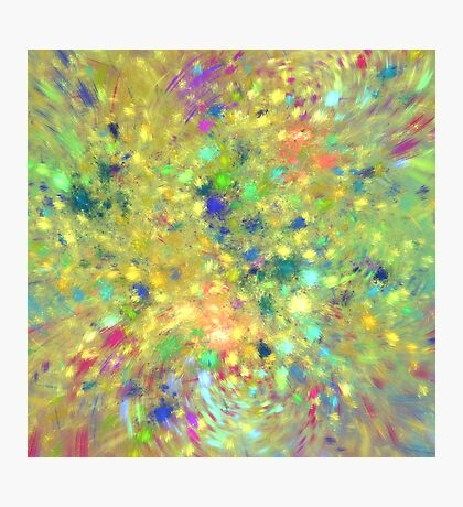 Spring #fractal art Photographic Print