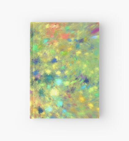 Spring #fractal art Hardcover Journal