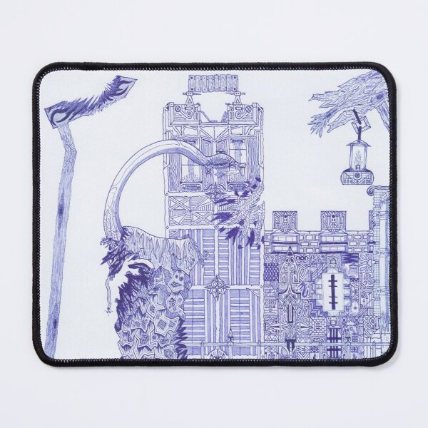 M.I. #121 |☽| Attack Aftermath Mouse Pad