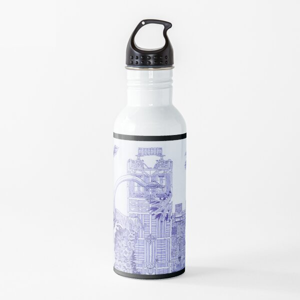 M.I. #121 |☽| Attack Aftermath Water Bottle