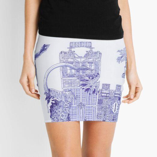 M.I. #121  ☽  Attack Aftermath Mini Skirt