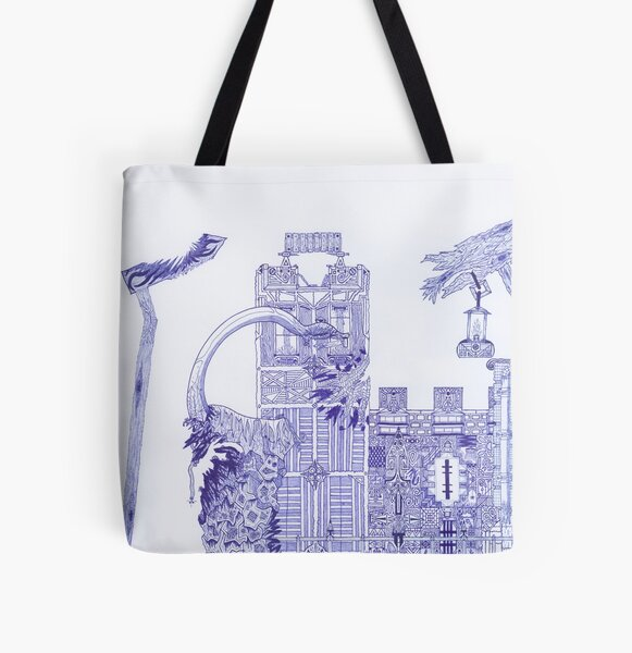 M.I. #121 |☽| Attack Aftermath All Over Print Tote Bag