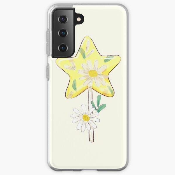 Clear Daisy Lollipop Samsung Galaxy Soft Case