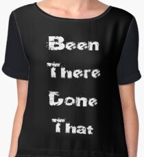 White - Worldly Baby Jumpsuit - Been There Done That - Fun T-Shirt Chiffon Top