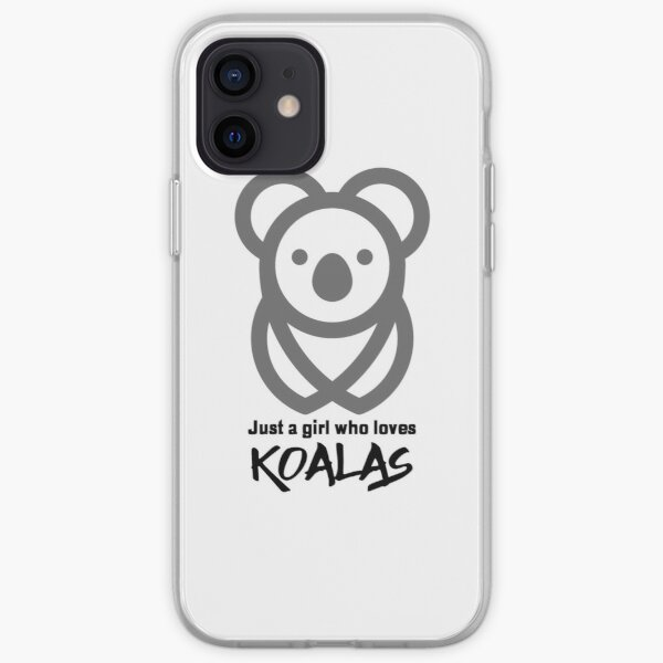 Nur ein Mädchen, das Koalas liebt - minimal iPhone Flexible Hülle