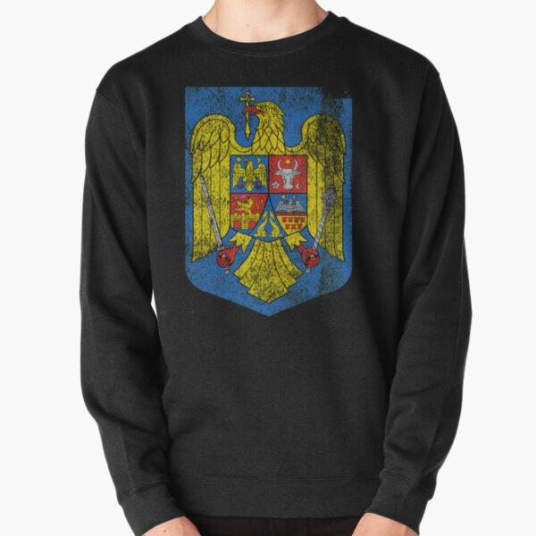 Romanian Coat of Arms Romania Symbol  Pullover Sweatshirt