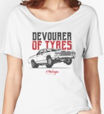 Devourer of tyres. Chevy El Camino SS Women's Relaxed Fit T-Shirt