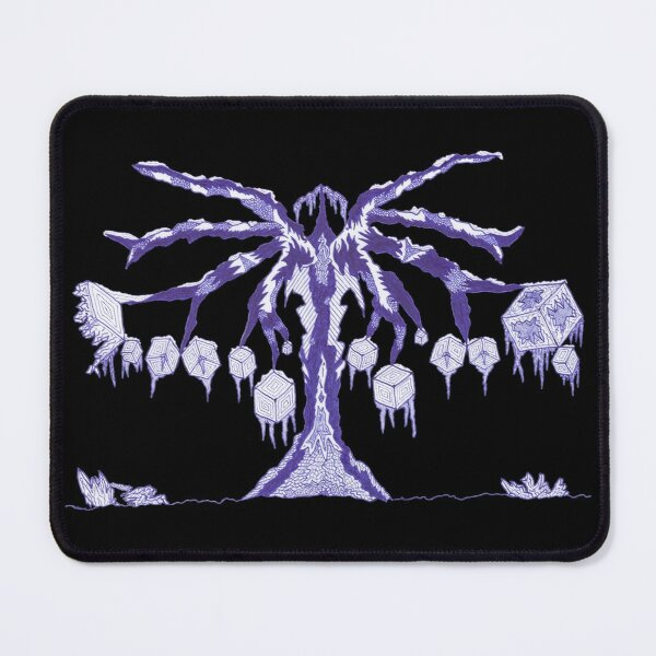 M.I. #123 |☽| Frozen Forest Fragment Mouse Pad