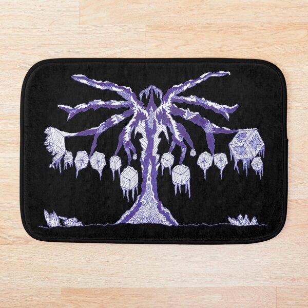 M.I. #123 |☽| Frozen Forest Fragment Bath Mat