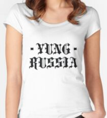 Yung Russia Pablo Women's Fitted Scoop T-Shirt
