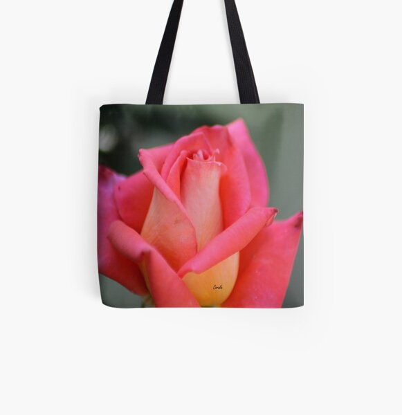 Color Of The Rose All Over Print Tote Bag
