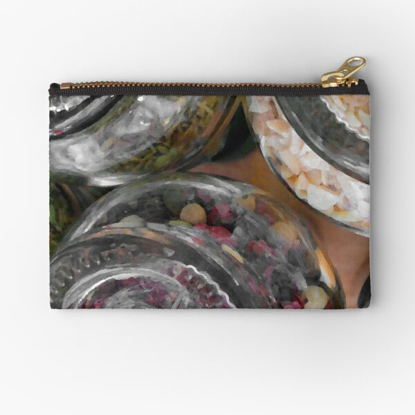 Herbs and spices 2 Zipper Pouch