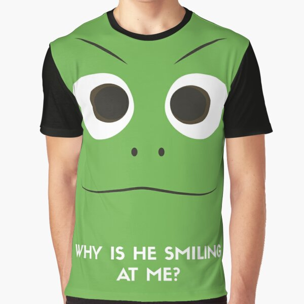 Pascal Minimalistic Design - Why is he staring at me? Graphic T-Shirt
