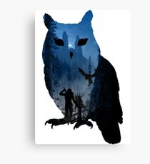 witcher school of the owl  Canvas Print