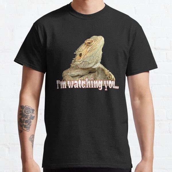 Bearded dragon watching you Classic T-Shirt