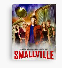 Smallville TV Series Canvas Print