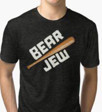 BEAR JEW - INGLORIUS BASTERDS Tri-blend T-Shirt