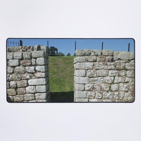 M.I. #122 |☼| Rocks And Bricks - Shot 15 (Hadrian's Wall) Desk Mat
