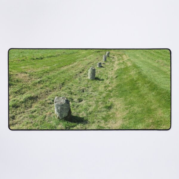 M.I. #120 |☼| Countrytide Breakers (Hadrian's Wall) Desk Mat