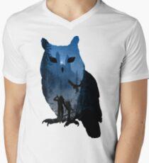 witcher school of the owl  Men's V-Neck T-Shirt