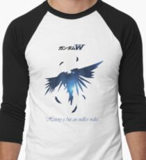 Gundam Flügel - Zero Wing Baseballshirt für Männer