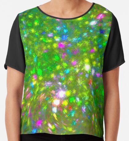 Summer #fractal art Chiffon Top