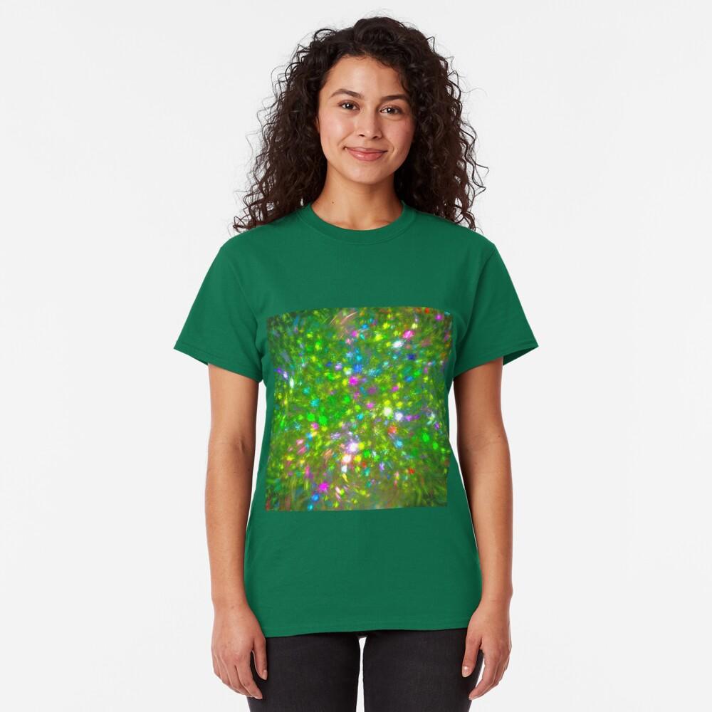 Summer #fractal art Classic T-Shirt