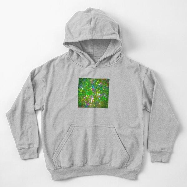 Summer #fractal art Kids Pullover Hoodie