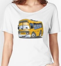 Cartoon School Bus Women's Relaxed Fit T-Shirt