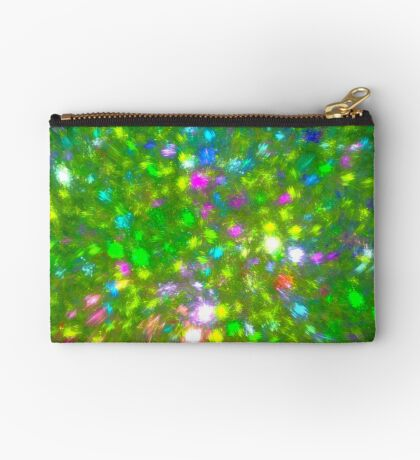 Summer #fractal art Zipper Pouch
