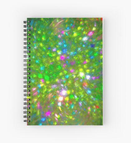 Summer #fractal art Spiral Notebook