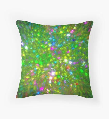Summer #fractal art Throw Pillow