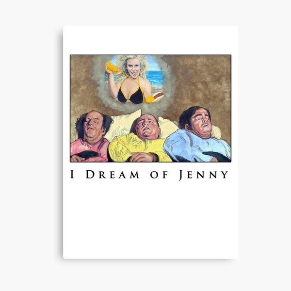 I Dream Of Jenny Canvas Print