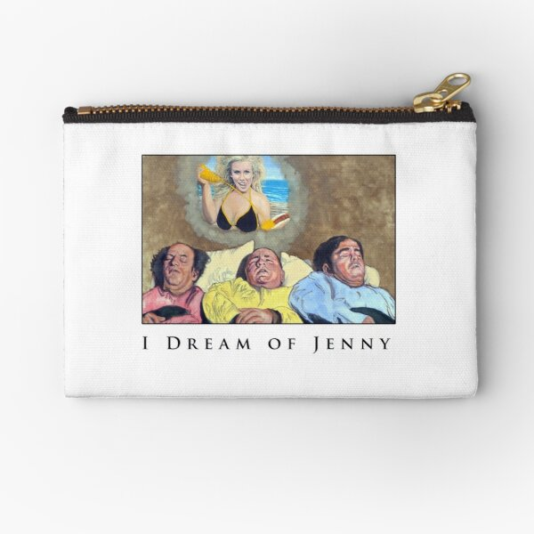 I Dream Of Jenny Zipper Pouch