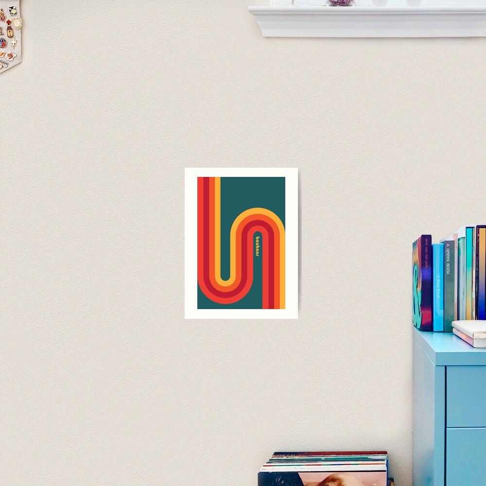 Bauhaus #54 Art Print