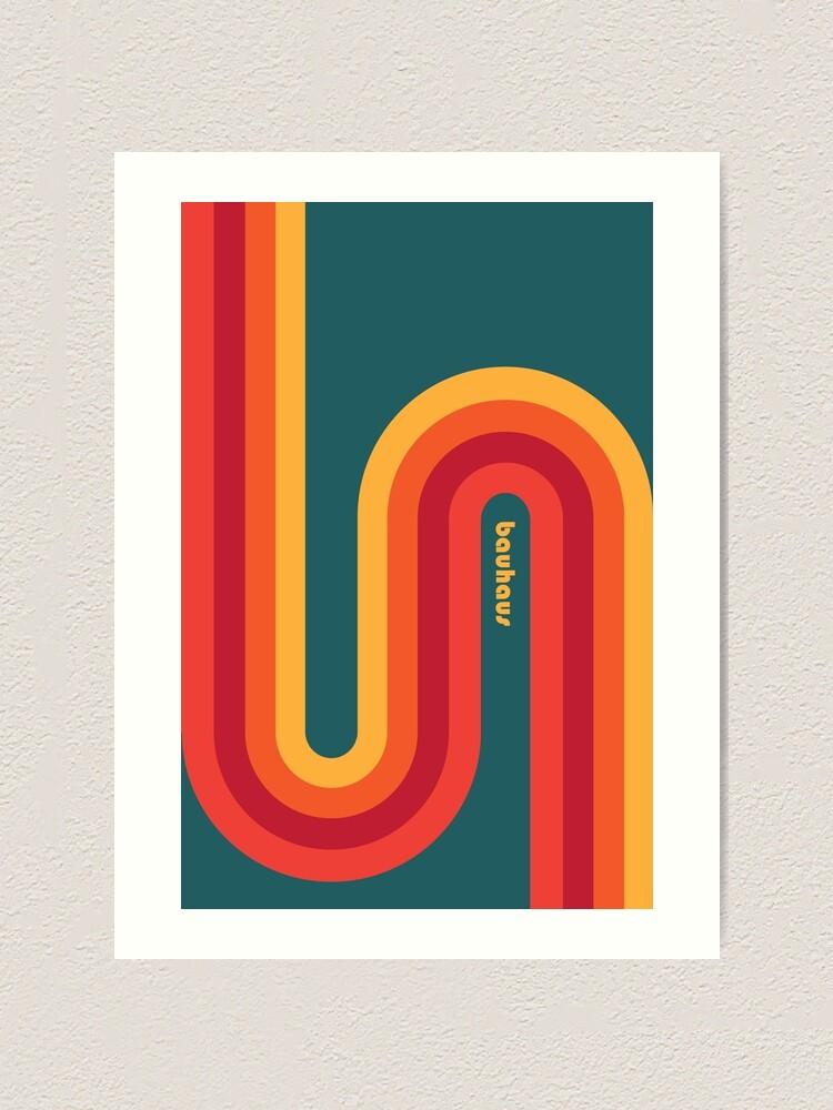 Alternate view of Bauhaus #54 Art Print