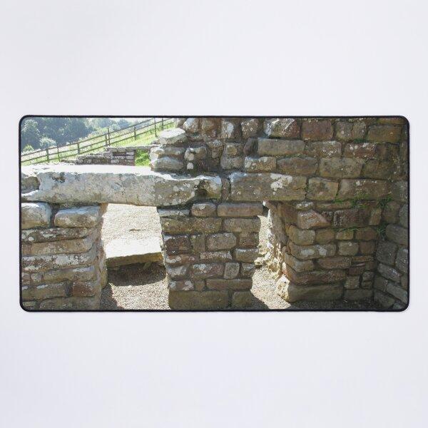 M.I. #115 |☼| Rocks And Bricks - Shot 14 (Hadrian's Wall) Desk Mat