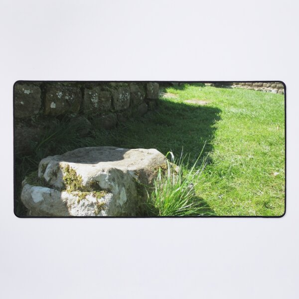 M.I. #114 |☼| Ground Rock Perspective (Hadrian's Wall) Desk Mat
